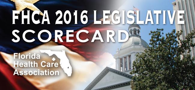 2016 Legislative Scorecard